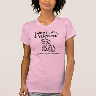 Unicorn Stabbing Funny T-Shirt