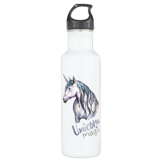 Unicorn Stainless Steel Water Bottle (24 oz)
