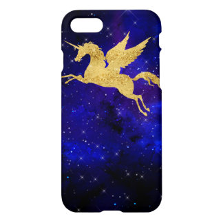 Unicorn Stardust Galaxy Constellation Blue iphone iPhone 7 Case