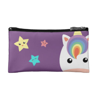 Unicorn & Stars Cosmetic Bag