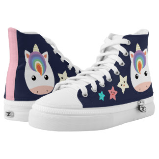 Unicorn & Stars High Tops