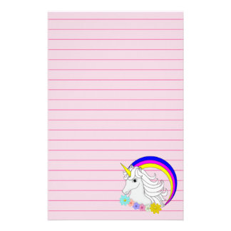 Unicorn Stationery