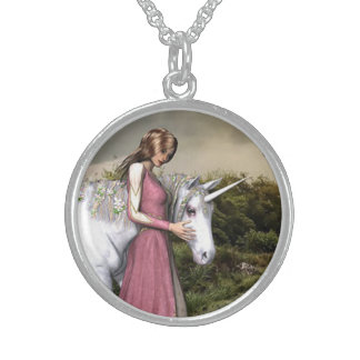 Unicorn Sterling Silver Necklace