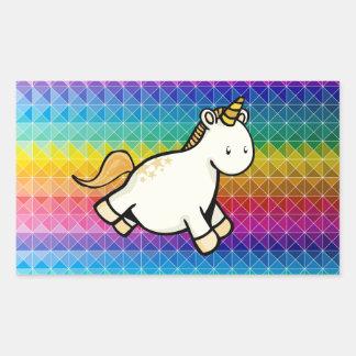 Unicorn Rectangular Stickers