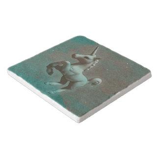Unicorn Stone Trivet (Teal Steel)