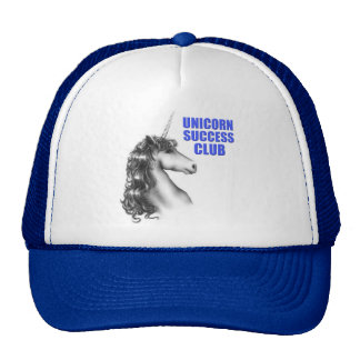 Unicorn success club mesh hat