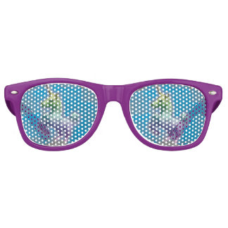 Unicorn Sunglasses Shades (Blue Nebula)