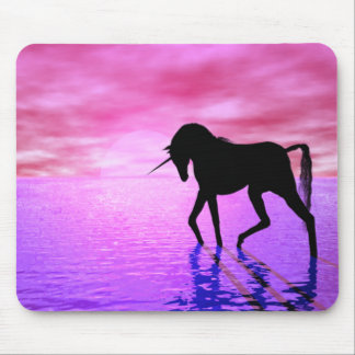 Unicorn Sunset Mouse Pad