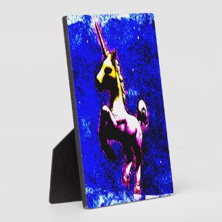 Unicorn Tabletop Plaque 5.25in (Punk Cupcake)