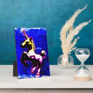 Unicorn Tabletop Plaque 5x7 (Punk Cupcake)