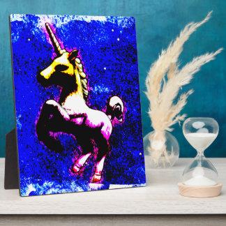 Unicorn Tabletop Plaque 8x10 (Punk Cupcake)