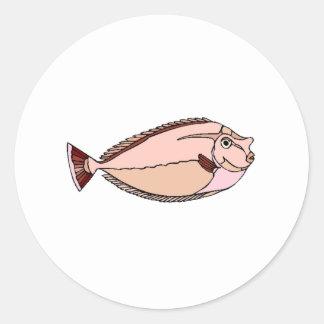 Unicorn Tang Fish Stickers