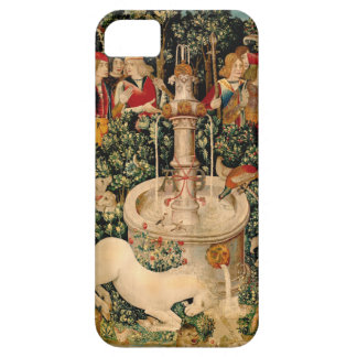Unicorn Tapestries Medieval Art iPhone 5 Cover