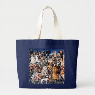 Unicorn Tapestry #6 Jumbo Tote Bag