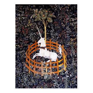 Unicorn Tapestry #7 postcard