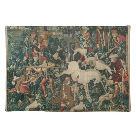 Unicorn Tapestry Placemats