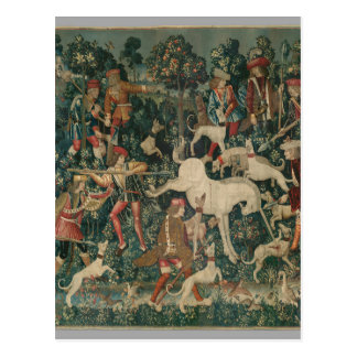 Unicorn Tapestry Postcard