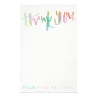 UNICORN THANK YOU STATIONERY