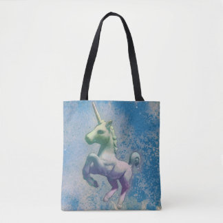 Unicorn Tote Bag (Blue Arctic)