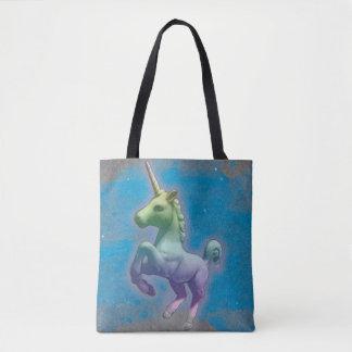 Unicorn Tote Bag (Blue Nebula)