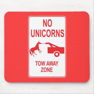 Unicorn Tow Away Zone Mousepad