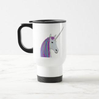 Unicorn tumbler travel mug