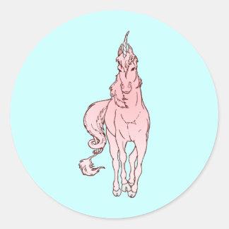 Unicorn unicorn stickers