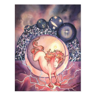 Unicorn, Universe Postcard