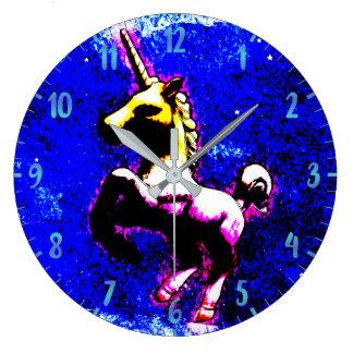 Unicorn Wall Clock   Punk Cupcake