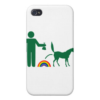 Unicorn Waste (Image Only) Covers For iPhone 4