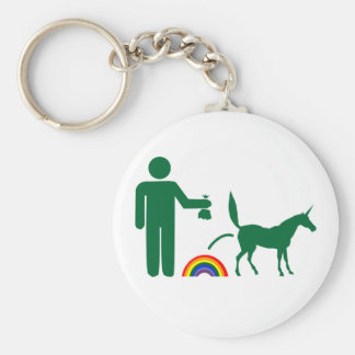 Unicorn Waste Image Only Keychains