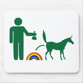Unicorn Waste Image Only Mousepad
