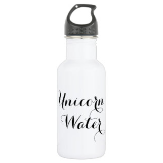 Unicorn Water funny hipster humor quote saying 532 Ml Water Bottle