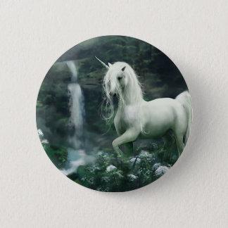 Unicorn Waterfall 6 Cm Round Badge