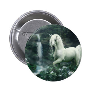 Unicorn Waterfall 6 Cm Round Badge