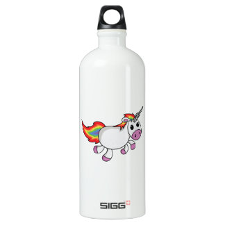 Unicorn with Rainbow Mane and Tail SIGG Traveller 1.0L Water Bottle