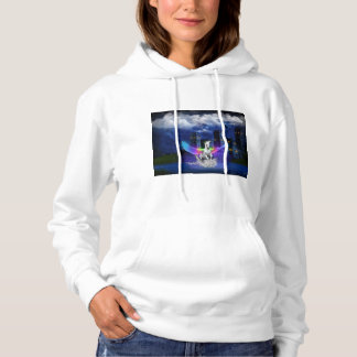 Unicorn With Rainbow Wings Hoodie