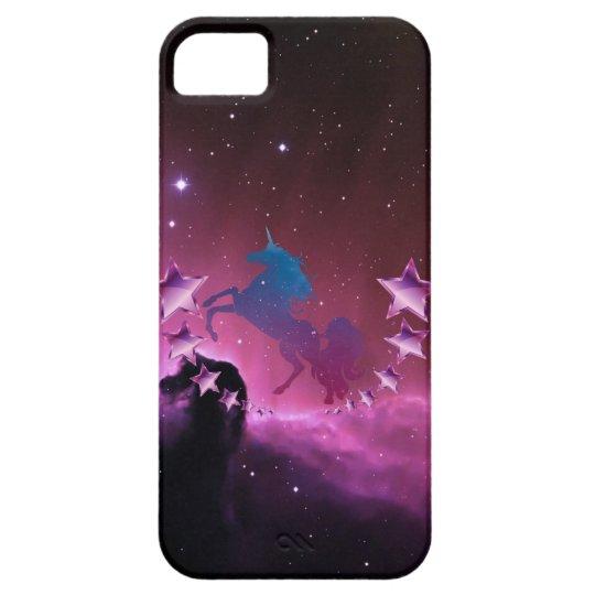 Unicorn with stars iPhone 5 case