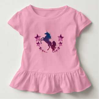 Unicorn with stars toddler T-Shirt