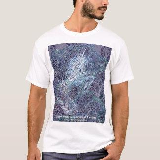 Unicorn Woods Deva, by Darlene P. Coltrain T-Shirt