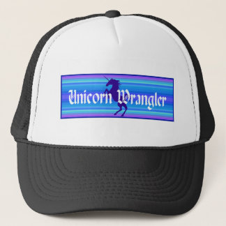 Unicorn Wrangler Trucker Hat