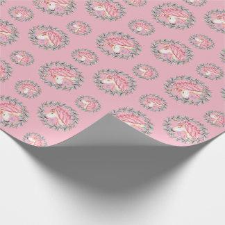 Unicorn wrapping paper - Dreams come true!