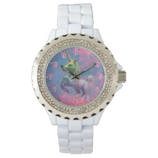 Unicorn Wrist Watch | Cupcake Pink