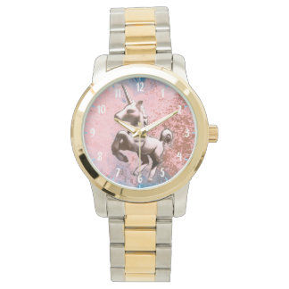 Unicorn Wrist Watch | Faded Sherbet