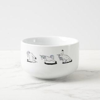 Unicorn Yoga Soup Mug