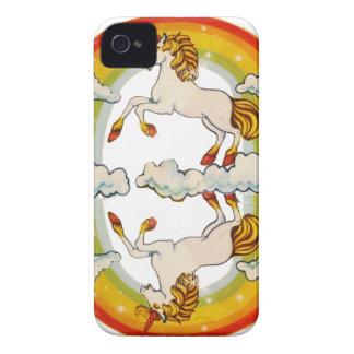 Unicorns and rainbows iPhone 4 case