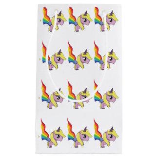 Unicorns and Rainbows Small Gift Bag