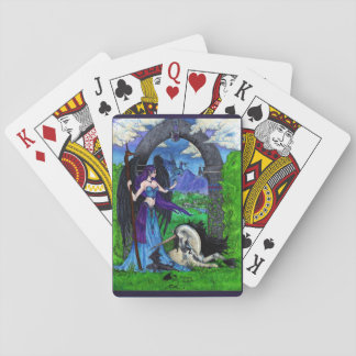 Unicorns, Angels, Dragons and More Poker Deck