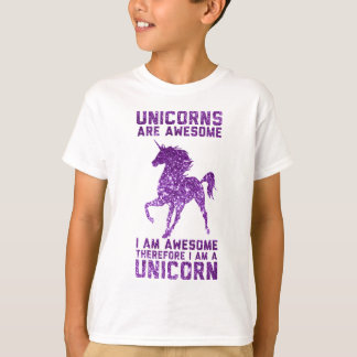 Unicorns Are Awesome T-Shirt