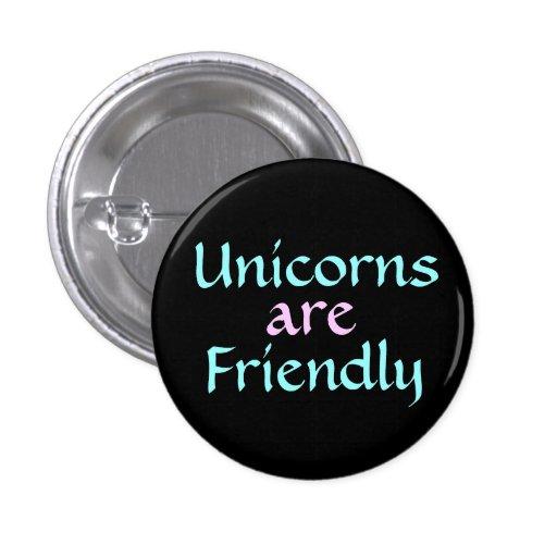Unicorns are Friendly Button !